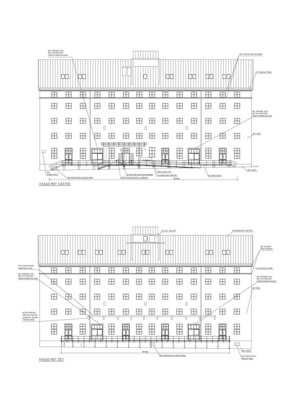 Havremagasinet - byggritning